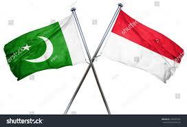 Flag Of Pakistan Pic Pakistan Flag Indonesia Flag 3d Rendering Stock Illustration