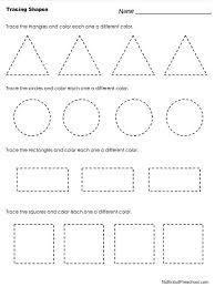 free printable preschool printing worksheets best photos of