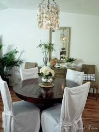Beachy Chandeliers Simple Nature Decor
