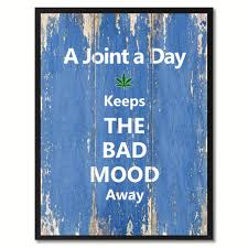 a joint a day quote saying gifts home décor wall art signs