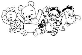 baby tigger coloring pages coloring