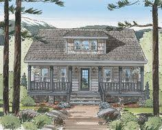 Craftsman Cabin by House Plan 75140 Cottage Craftsman Modern Plan With 985 Sq Ft