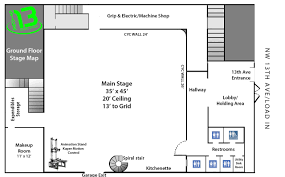 Machine Shop Floor Plan by Stage Stage 13