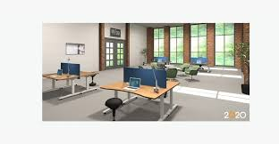 Office Desk Configurations Office Furniture And Design Uplift Desk