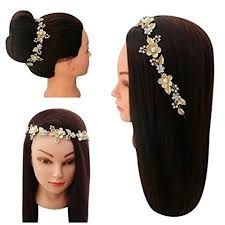 hair accessories online buy vogue golden party wedding bridal fancy hair accessories