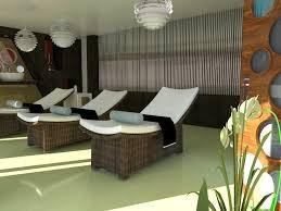 Unique Lounge Chairs Design Ideas Interior Amazing Spa Interior Ideas Combine With Rattan Lounge
