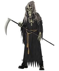 Skeleton Halloween Costume Kids Dark Messenger Costume Kids Costume Scary Halloween Costume At