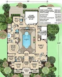 large estate house plans plan w81384w southwest photo gallery florida spanish