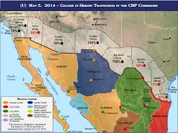 Southern Mexico Map by Us Heroin Coming From Mexican Cartels Business Insider