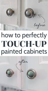 how to touch up white gloss kitchen cabinets how to touch up chipped cabinet paint lovely etc