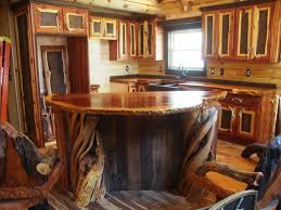Cabin Kitchen Cabinets Artistic Rustic Kitchen Cabinets For Cabin In 10314 Homedessign Com
