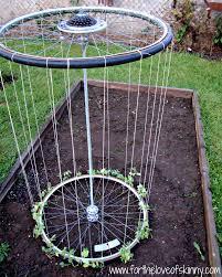 how to make recycled tire garden trellis diy u0026 crafts handimania