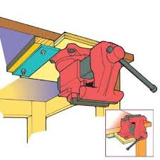 Install Bench Vise Simple Ways To Make Your Workbench Work Harder Tool Storage