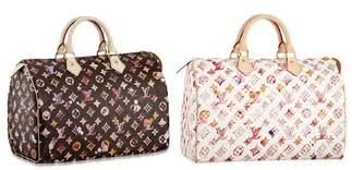louis vuitton watercolor speedy the watercolor speedy in white and
