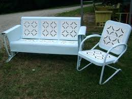 Patio Furniture Wrought Iron by Wrought Iron Glider Patio Furniture Wrought Iron Glider Outdoor