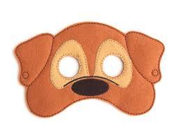 masks for kids kids dog mask dog costume puppy felt mask kids mask