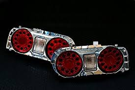 nissan gtr tail lights amazon com led tail light l right and left for 2 door coupe for