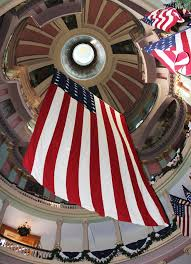 Flag Hanging Photo Gallery U S National Park Service