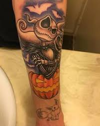 tattoo nightmares los angeles california jack tattoo from nightmare before christmas tattoos pinterest