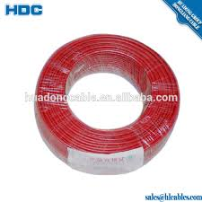 solid pvc kyna cable red yellow green color 1 5mm 2 5mm 4mm 6mm