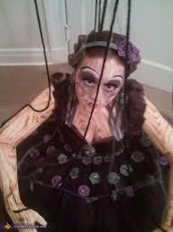 Marionette Doll Halloween Costume Wooden Marionette Puppet Homemade Halloween Costume Photo 2 4