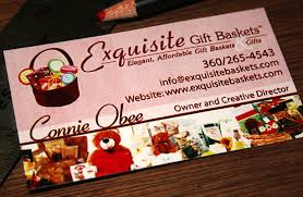 gift basket business exquisite gift baskets business card design graphic design