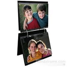 flip photo album 4x6 1 black 1 silver flip its tabletop album each holds 50 4x6