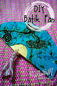 diy batik indonesia fan craft kids can make motherhood today