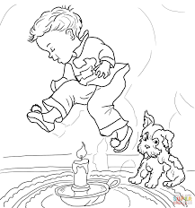 free printable nursery rhymes coloring pages for kids with eson me