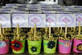 decorating flower pots kids decorative flowers