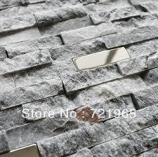 Gray Stone Backsplash by Online Shop Stone Marble Stainless Steel Kitchen Backsplash