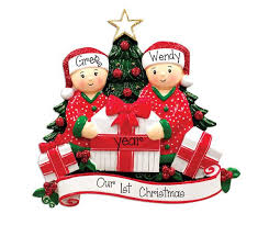 couples 1st my personalized ornaments