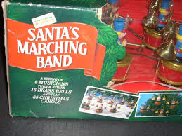 amazon com mr christmas vintage santa u0027s marching band home