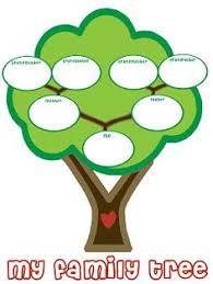 family tree template for charts chart and family trees