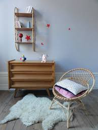 chambre en osier fauteuil en rotin annees 60 vintage émoi