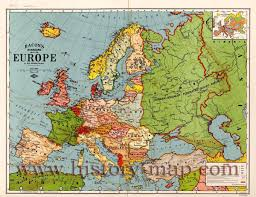 Map Central Europe by Europe Map Other Maps