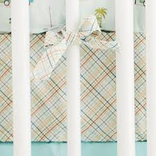 plaid crib sheet baby crib sheets fitted baby sheet