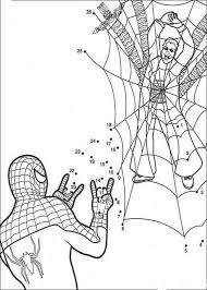 free printable spiderman coloring pages kids