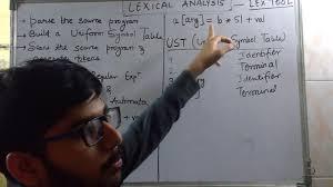 compiler design lec 2 lexical analysis youtube
