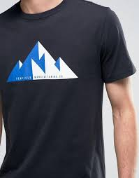 penfield outerwear sale penfield geo mountain print tshirt