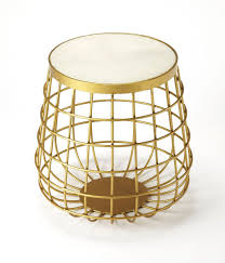 Drum Accent Table by Search Drum