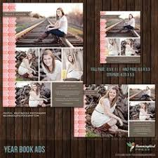 senior yearbook ad template 6 images must have photoshop
