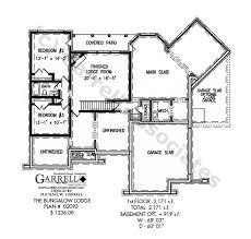 bungalow house plans with basement bungalow lodge house plan active house plans