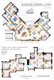 Tv Show Apartment Floor Plans House Plans From Tv Shows House Plans