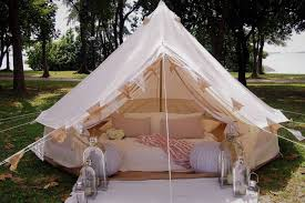 glamping in luxurious bell tent by the sea tents for rent in