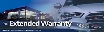 audi extended warranty worth it audi langley audi dealership in langley bc v3a 0c2