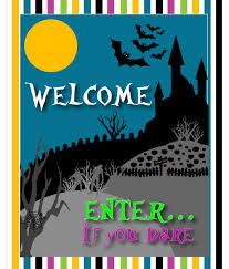 halloween party welcome signs u2013 fun for halloween