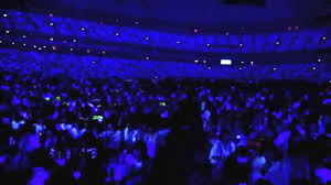 e l f japan sapphire blue ocean wave at tokyo dome youtube