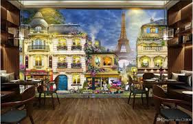 3d room 3d room wallpaper custom photo non woven mural romantic french
