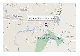 Ma Map 643 East Central St A Landmark Antique In Franklin Ma